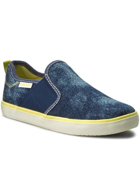 Geox Geox Πάνινα παπούτσια J Kiwi B. P J72A7P 0GI54 C0902 Σκούρο μπλε