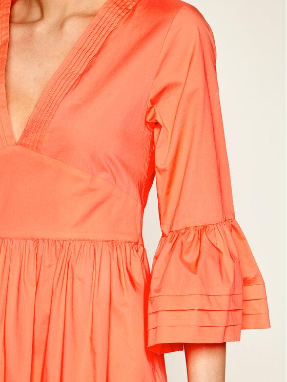 TwinSet TwinSet Každodenní šaty 201TT2072 Oranžová Regular Fit
