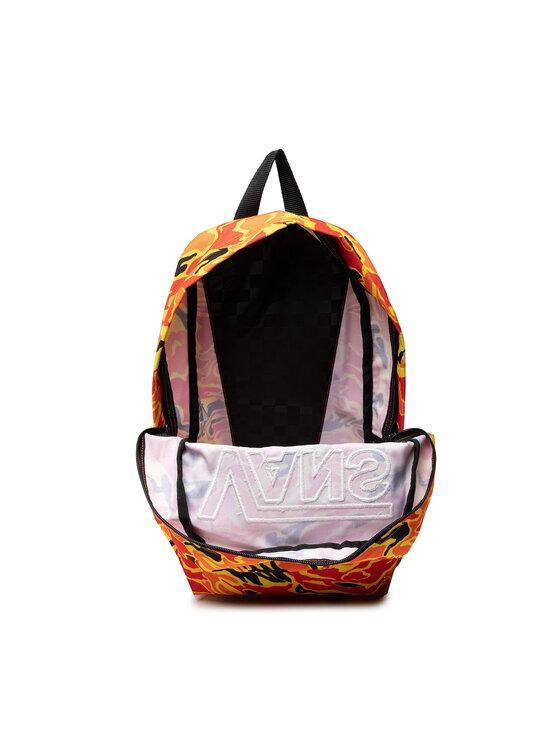 Vans Vans Plecak New Skool Back VN0002TLZ7D1 Pomarańczowy