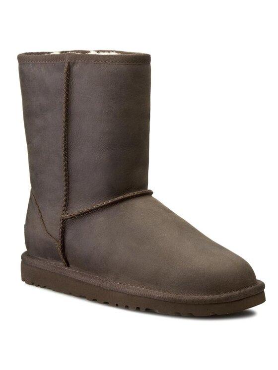 Ugg Ugg Scarpe W Classic Short Leather 1005093 Marrone