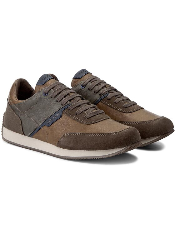 Geox Geox Sneakersy U Dassel A U742ZA 0ME22 C6479 Brązowy