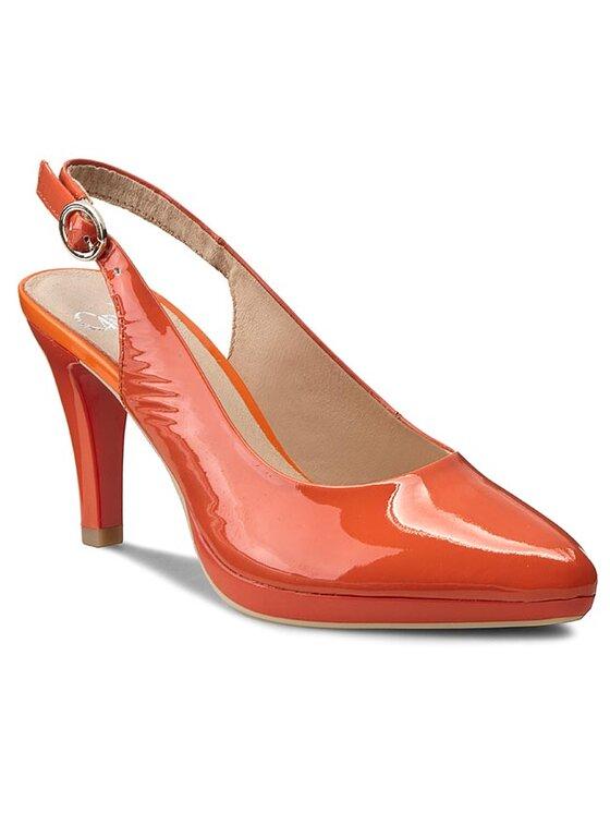 Caprice Caprice Sandały 9-29604-26 Pomarańczowy
