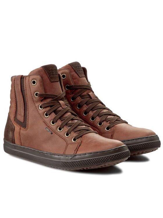 Geox Geox Sneakersy U Smart B U54X2B 000FF C6003 Brązowy