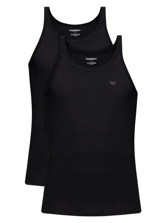 Emporio Armani Underwear Emporio Armani Underwear Komplet 2 tank topów 111612 CC722 07320 Czarny Regular Fit