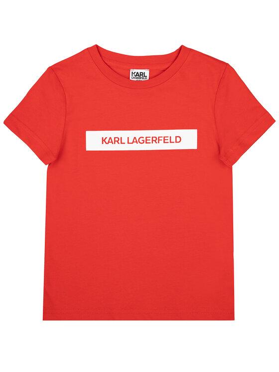 KARL LAGERFELD KARL LAGERFELD Tricou Z25203 Roșu Regular Fit