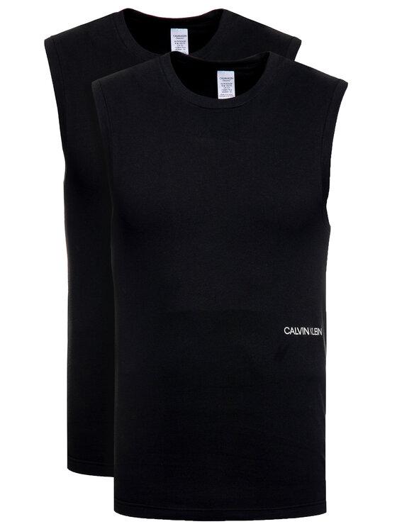 Calvin Klein Underwear 2 marškinėlių komplektas 000QS6199E Juoda Regular Fit