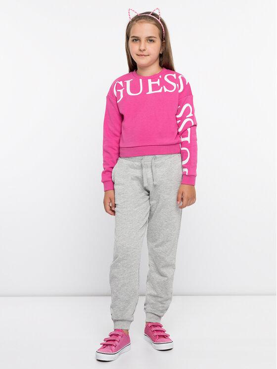 Guess Guess Суитшърт J93Q04 K8ZT0 Розов Regular Fit