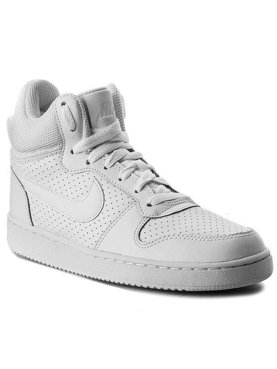 Nike Nike Buty Court Borough Mid 844906 110 Biały