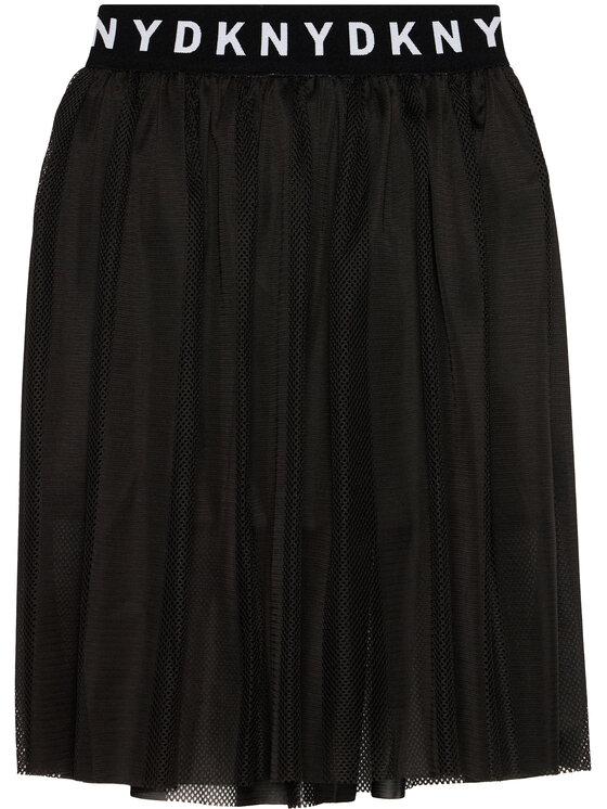 DKNY DKNY Spódnica D33561 D Czarny Regular Fit