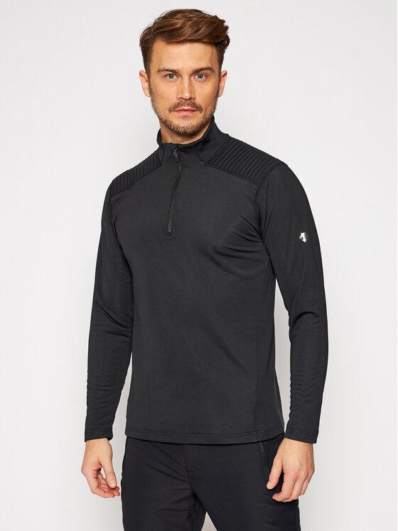 Descente Techninis džemperis Piccard DWMQGB23 Juoda Regular Fit