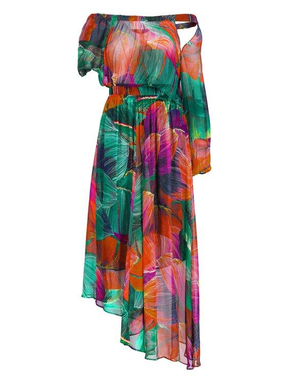 Pinko Pinko Коктейлна рокля Giulia Abito PE 19 PBK2 1B13NL 7484 Цветен Regular Fit