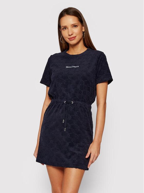 Juicy Couture Kasdieninė suknelė Tatum JCWE121083 Tamsiai mėlyna Regular Fit