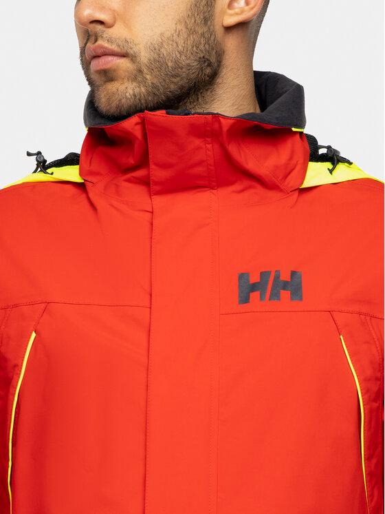 Helly Hansen Helly Hansen Kurtka przeciwdeszczowa Pier 33872 Czerwony Regular Fit