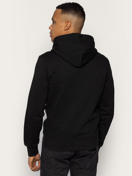 Calvin Klein Calvin Klein Sweatshirt Stripe Logo Hoodie K10K105151 Noir Regular Fit