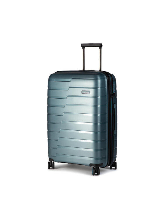 Travelite Didelis Kietas Lagaminas Air Base 075348-25 Mėlyna