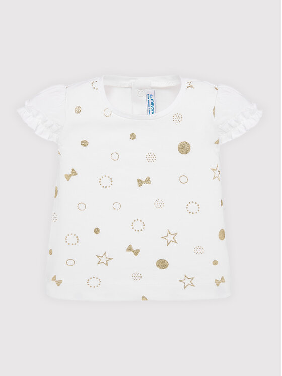 Mayoral Mayoral T-shirt 1057 Blanc Regular Fit