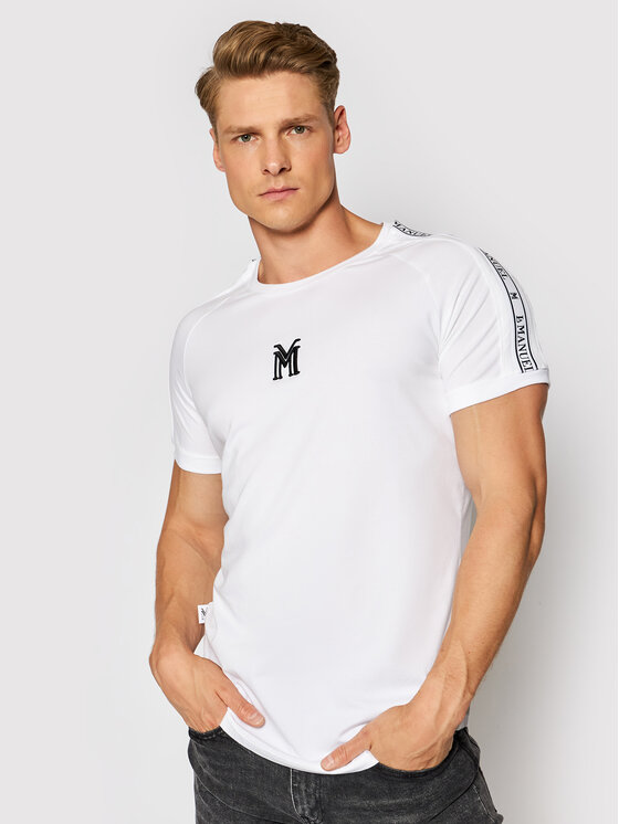 LaManuel Marškinėliai Platinium Tee Balta Regular Fit