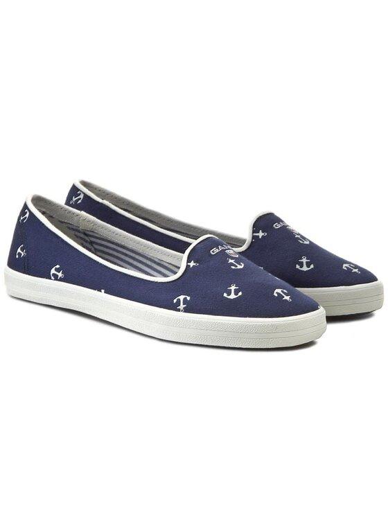 Gant Gant Πάνινα παπούτσια New Haven 10578572 Μπλε