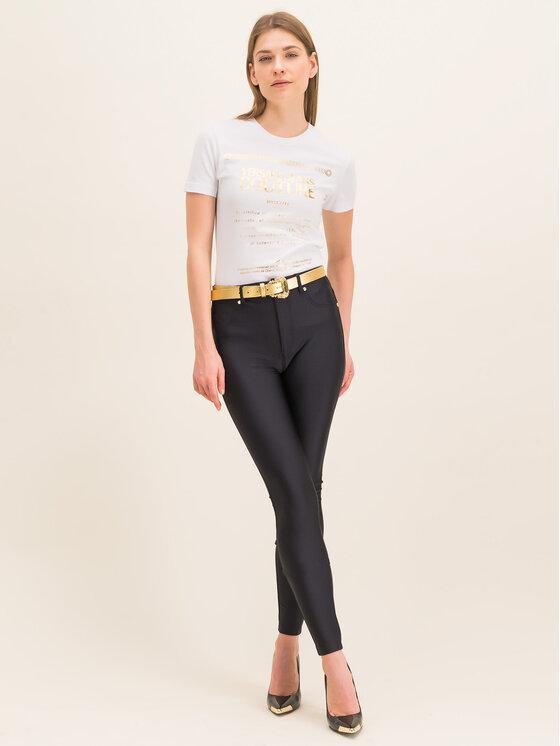 Versace Jeans Couture Versace Jeans Couture Tričko B2HVA7T1 Biela Regular Fit