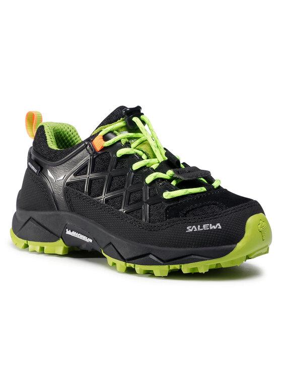 Salewa Turistiniai batai Jr Wildfire Wp 64009-0986 Juoda