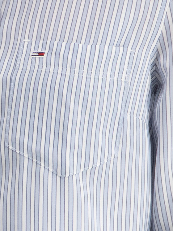 Tommy Jeans Tommy Jeans Риза DW0DW06812 Син Regular Fit