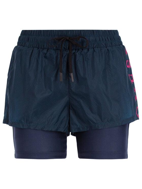 Guess Guess Short de sport O92A29 WO030 Bleu marine Slim Fit