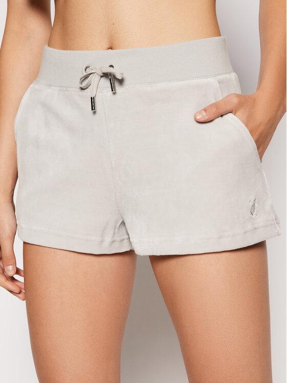 Juicy Couture Sportiniai šortai Eve JCWH121092 Pilka Regular Fit
