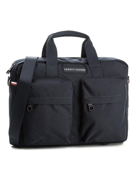 Tommy Hilfiger Tommy Hilfiger Porta PC Tommy Computer Bag AM0AM03240 Blu scuro