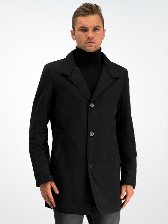 Strellson Strellson Преходно палто 30017539 Черен Regular Fit