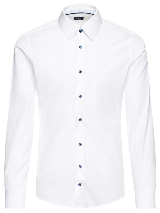 JOOP! Joop! Риза 30014749 Бял Slim Fit