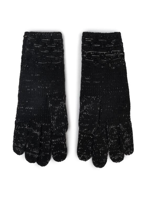 Guess Guess Dámské rukavice Not Coordinated Gloves AW8199 WOL02 Černá