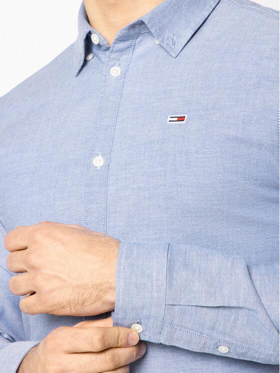 Tommy Jeans Tommy Jeans Koszula Tjm Oxford DM0DM06562 Niebieski Slim Fit