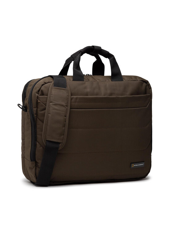 National Geographic National Geographic Torba na laptopa Briefcase N00708.11 Zielony