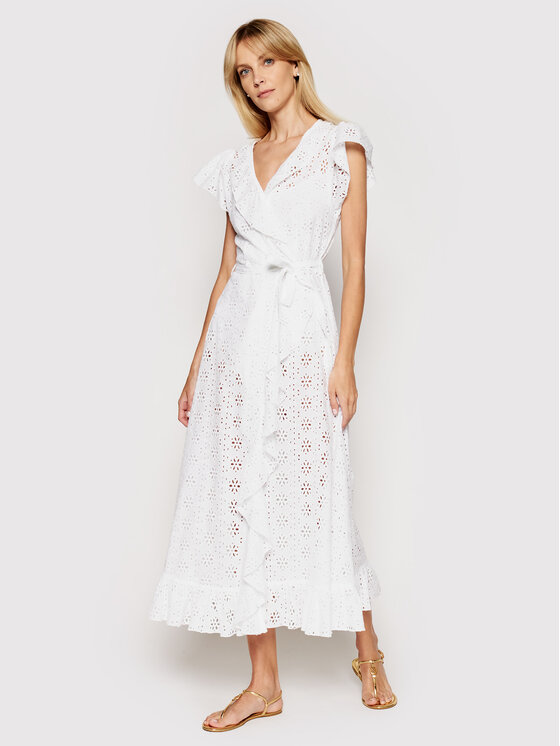Melissa Odabash Paplūdimio suknelė Brianna CR Balta Regular Fit