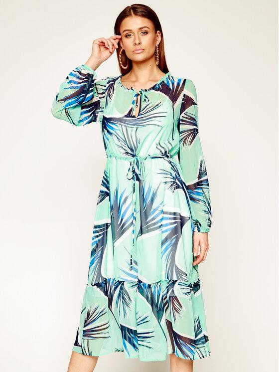 Laurèl Kasdieninė suknelė 11027 Žalia Regular Fit