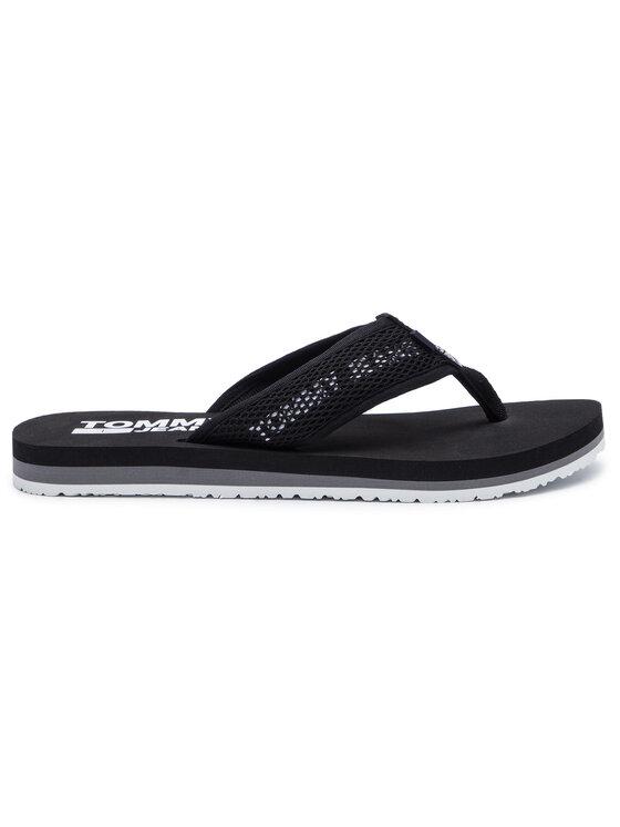 Tommy Jeans Tommy Jeans Σαγιονάρες Tech Mesh Sandal EM0EM00300 Μαύρο