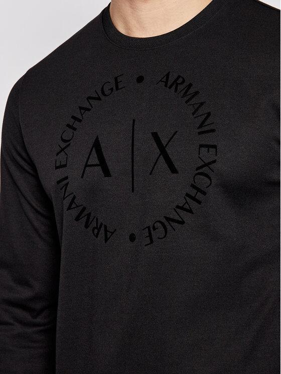 Armani Exchange Armani Exchange Sweatshirt 8NZM87 Z9N1Z 1200 Noir Regular Fit