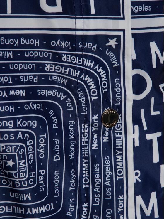TOMMY HILFIGER TOMMY HILFIGER Μπουφάν μεταβατικό WW0WW25146 Σκούρο μπλε Regular Fit