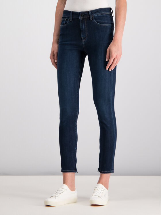 Pepe Jeans Pepe Jeans jeansy_straight_leg PL203384DB78 Tamsiai mėlyna Skinny Fit