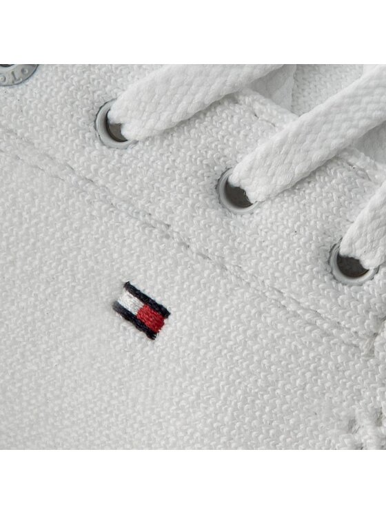Tommy Hilfiger Tommy Hilfiger Sneakersy Skye 10D FW0FW01048 Biały