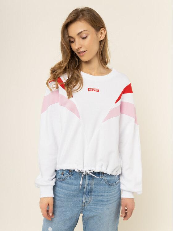 Levi's® Levi's® Sweatshirt Florence Crew 77711-0003 Blanc Regular Fit