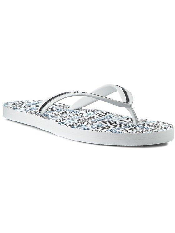 Armani Jeans Armani Jeans Flip flop C6561 56 10 Alb