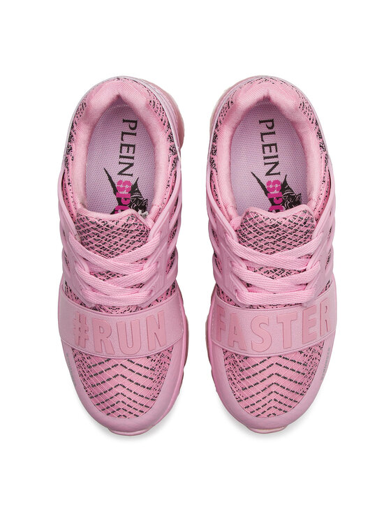 Plein Sport Plein Sport Sneakers Runner Logos P19S WSC1233 STE003N Rose