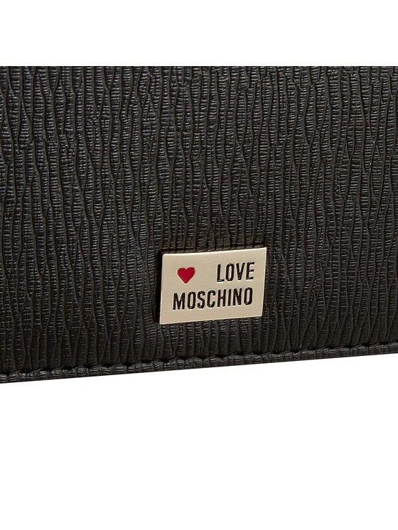 LOVE MOSCHINO LOVE MOSCHINO Duży Portfel Damski JC4101PP10LB0000 Czarny