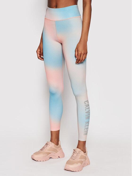 Calvin Klein Performance Leginsai 00GWS1L655 Mėlyna Slim Fit