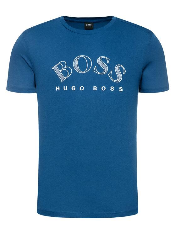 Boss Boss Tričko Tee 1 50424014 Modrá Regular Fit