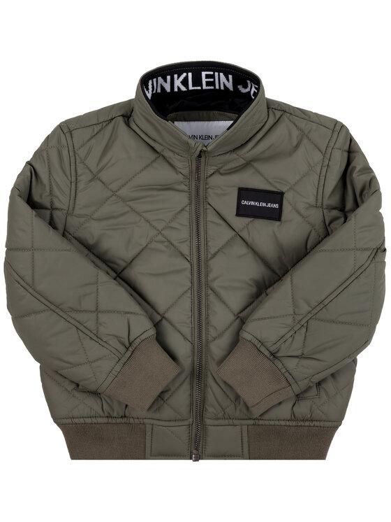 Calvin Klein Jeans Calvin Klein Jeans Giacca di transizione IB0IB00161 Verde Regular Fit