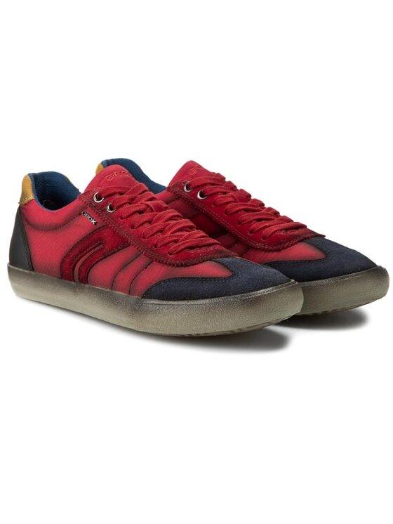 Geox Geox Sneakersy U Smart A U62X2A 0FU22 C0106 Červená