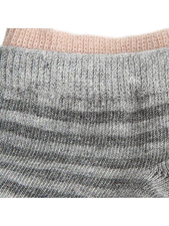 Tommy Hilfiger Tommy Hilfiger Σετ 2 ζευγάρια κοντές κάλτσες γυναικείες 373006001 Ροζ