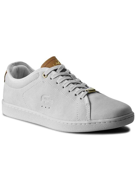 Lacoste Lacoste Sneakersy Carnaby Evo 317 8 Spw 7-34SPW004353S Biały